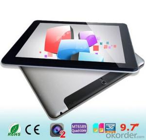 New Quad Core Tablet Mtk8389 with GPS 3G Built in 16GB 9.7 inch