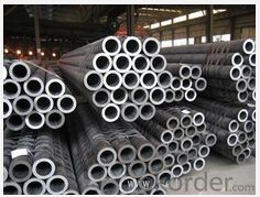 Seamless steeI tubes for structures