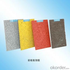 Colourful Aluminum Foam