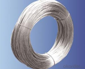 Hot sale types of steel wire rope 1*7 1*19 7*19