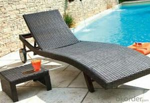 Garden Recliner Chair by Resin Wicker