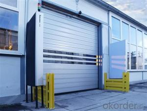 Automatic Sectional Garage Door for sale