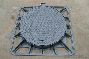 Manhole Cover with Handle East Asian 400*400 Square