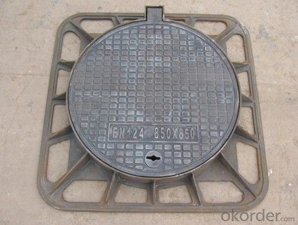 Heavy Duty Square Set Manhole Cover D400