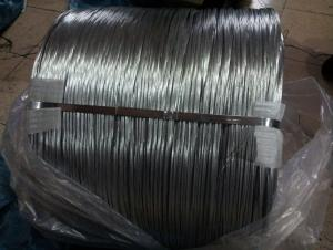 Hot Dip Galvanised Steel Wire For Pvc Coated Wire