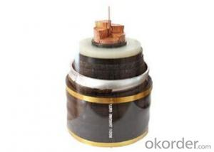 high voltage XLPE insulated PVC sheathed power cable