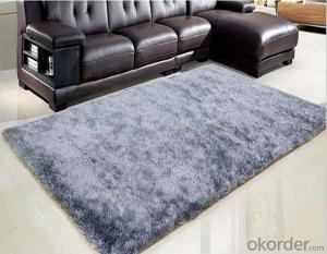 polyester silk carpet