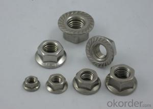 Hexagon Nut with Flange   DIN6923