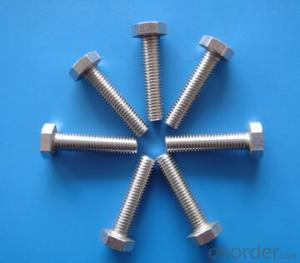 Hexagon Head bolts M4-M22 DIN933