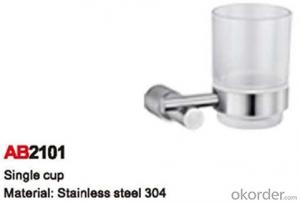 Strong Bathroom Accessory Single Cup AB2101