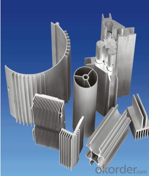 Aluminium profile construction and industry