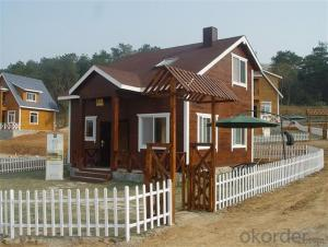 Small Size Very Beautiful Prefabricated Wooden House