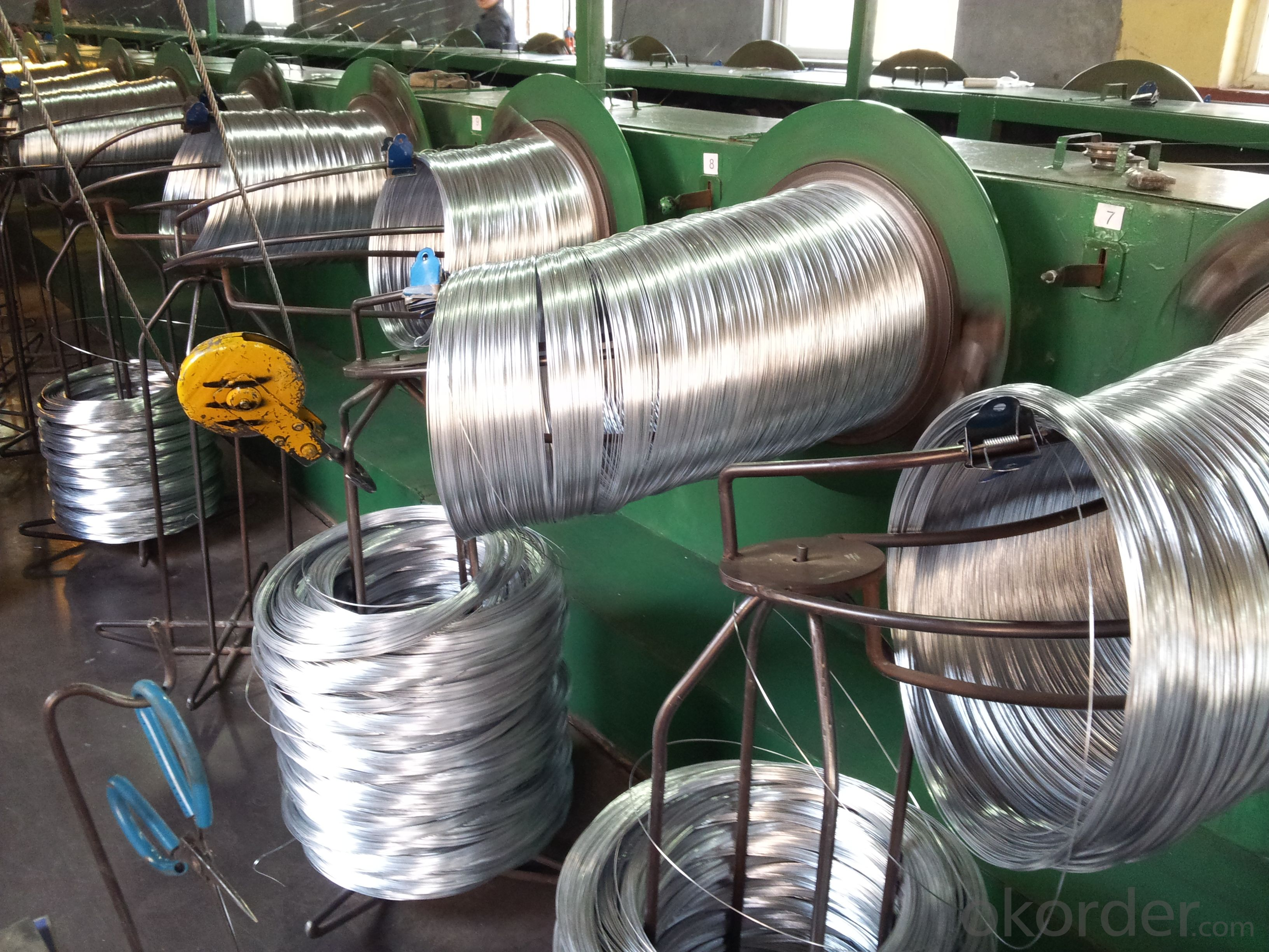 Galvanized Iron Wires For Barbed Wires