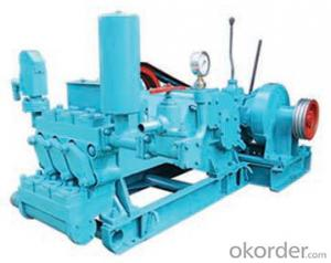 NB-130 Mud Pump is horizontal triplex single acting piston pump which is suitable to oil