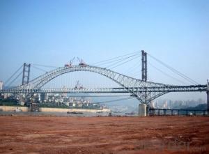Customized steel structure for bridge