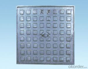 Ductile cast iron manhole cover