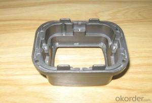Precision aluminum die casting parts with painting and silkscreen