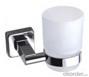 China Stainless Steel Bathroom Accessory Single Cup AB1804