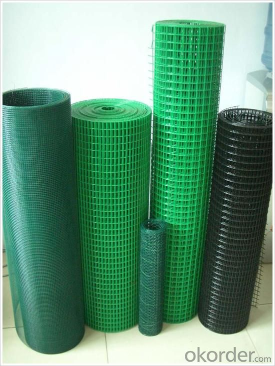 PVC Coated/galvanized Welded Wire Mesh