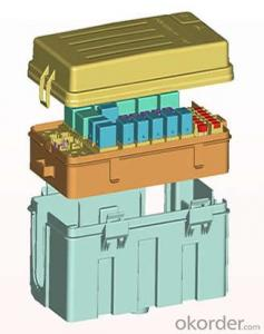 Engine compartment Electric appliance box