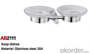 Strong Bathroom Accessory Soap Dishes AB2111
