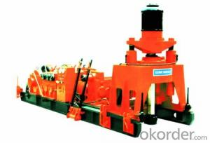 TSJ600/660 drilling rig is mainly used in quaternary stratum of fine particles