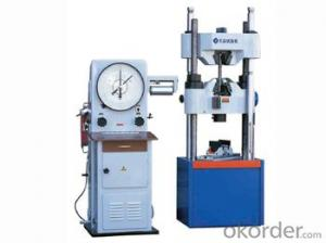 WE Series Dial Type Hydraulic Universal Testing Machine