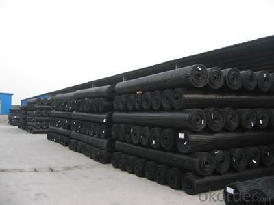 High tensile strength hdpe geogrid