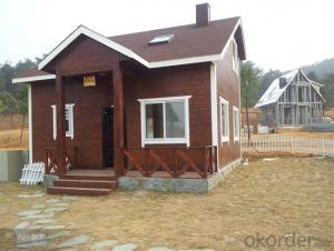 Prefabricated Wooden Luxury style Houses