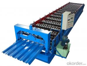 Double Layer Corrugated Roofing Machine