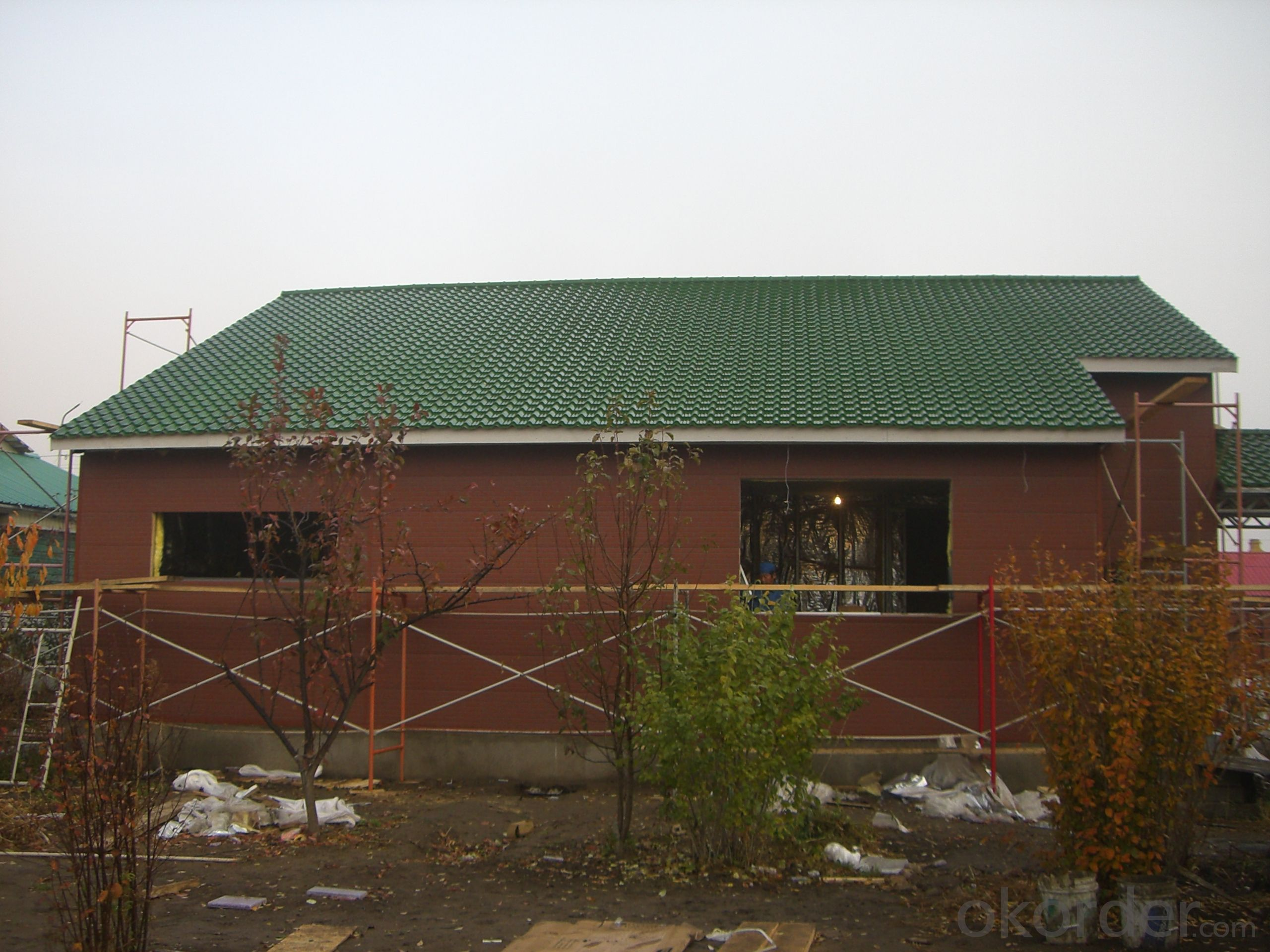Good Insulation Prefabricated House in very cold areas