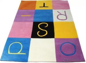 Colorful Acrylic Kids carpet rug