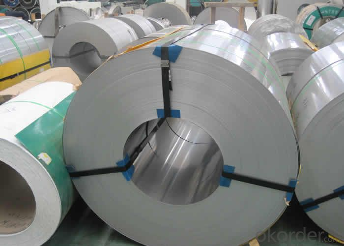 Hot Rolled Stainless Steel Coil 201 No.1 Finish Narrow Strip