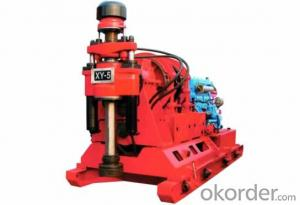 XY-5 Drilling Rig is a deep hole drilling equipment used for exploration in area of geology