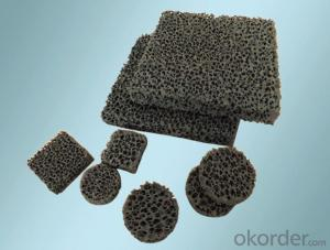 ceramic foam filter with good quality