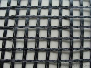 Raw materials plastic geogrid