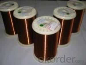 Class 155 nylon/modified polyester enameled round copper wire