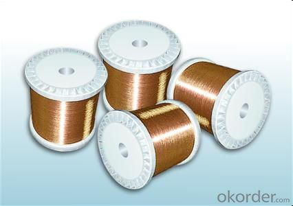 Class 155 modified polyester enameled round copper wire