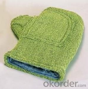 antifire glove green