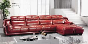 Leather sofa model-18
