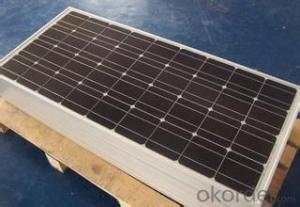 Manufactured 120w Single Monocrystalline solar cells