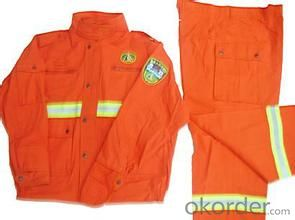 antifire cloth orange