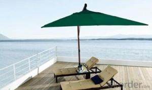 Outdoor Folding Beach Daybed With Umbrella