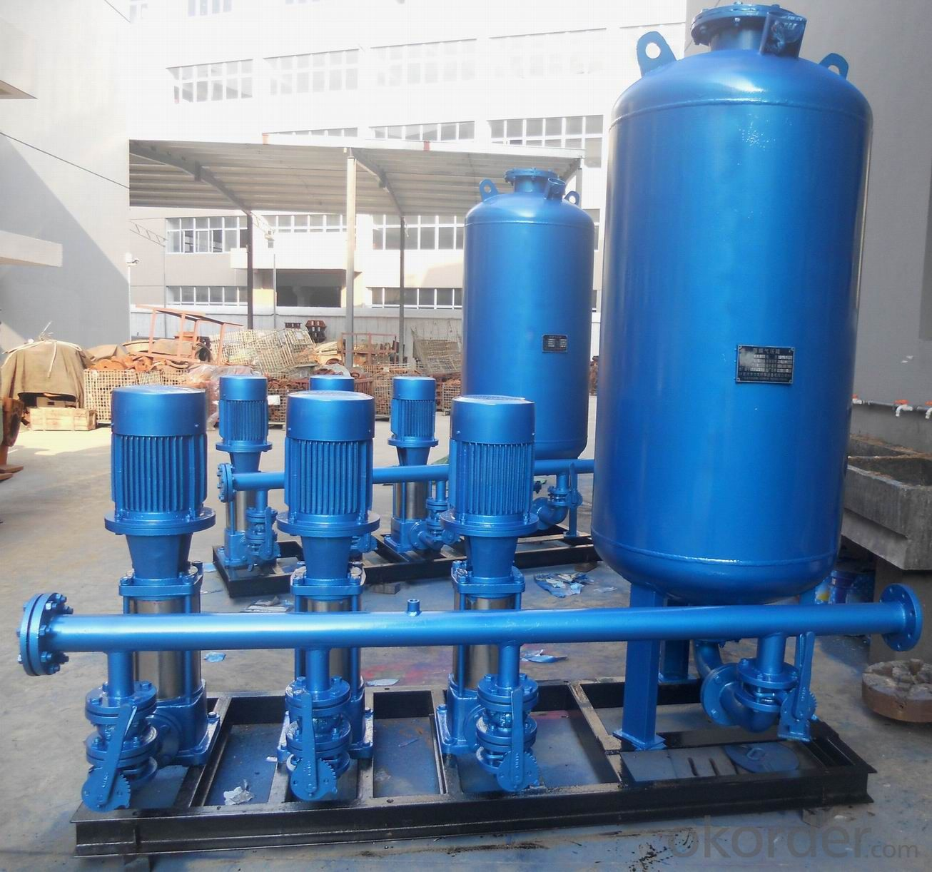 Buy Full Automatic Domestic Pressure Balancing Water Supply System ...
