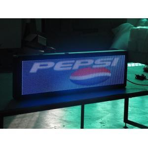 P7.62 Semi-outdoor LED Message Sign With Editable Remote Controller CMAX-M3