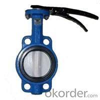 butterfly valve standard DIN