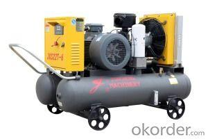 Electric Drive Portable Screw Air Compressor (JKY22-6)