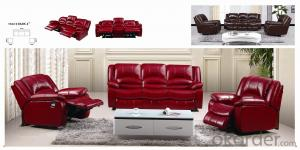 Leather sofa model-13