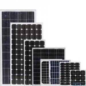 Polysilicon broken solar cells