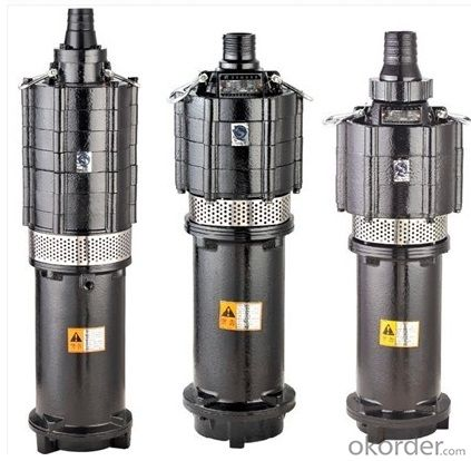 Oil-filled Submersible Centrifugal Pumps